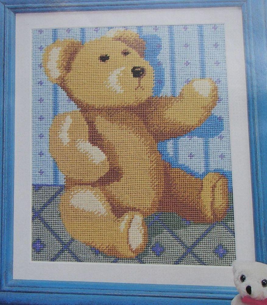 Teddy Bear ~ Needlepoint Pattern