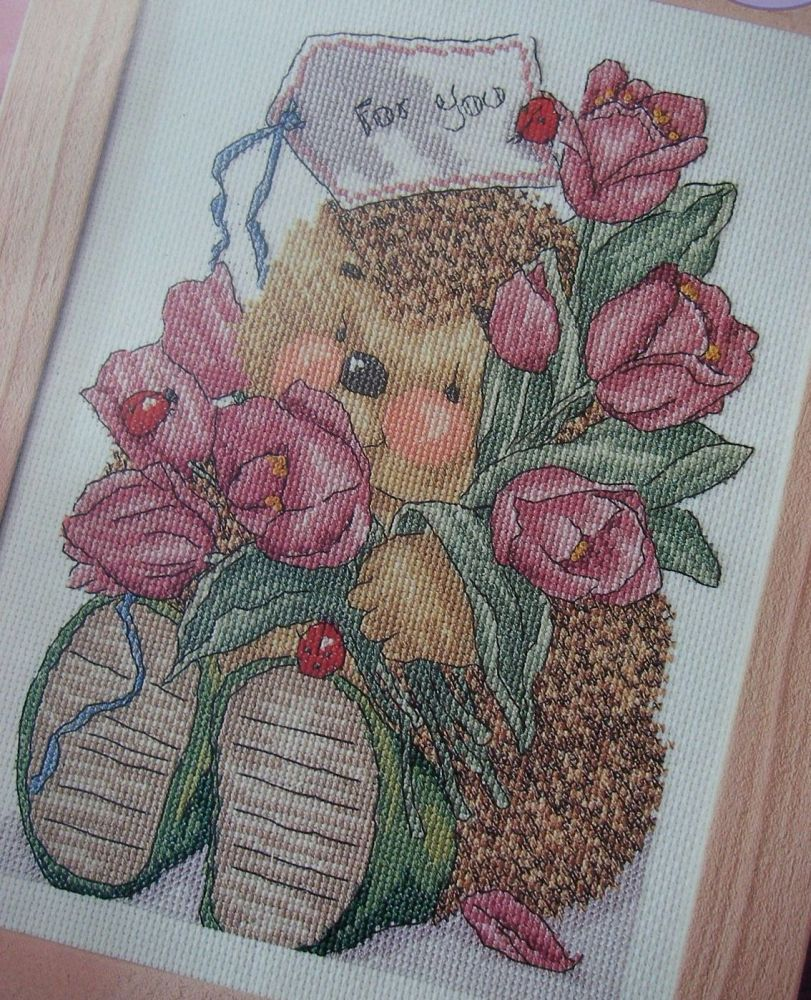 Country Companions: A Bunch of Tulips For You ~ Cross Stitch Chart