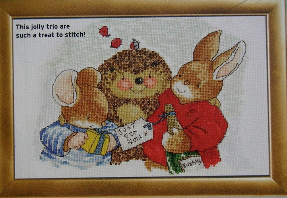 Country Companions: Just For You ~ Cross Stitch Chart