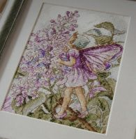 The Lilac Fairy & The Wild Cherry Blossom Fairy ~ Two DMC Flower Fairies Cross Stitch Charts