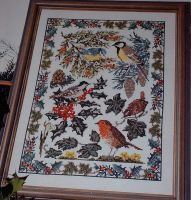 British Wildlife Winter Sampler ~ Cross Stitch Chart