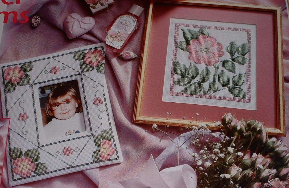 Winter Roses ~ Three Cross Stitch Charts
