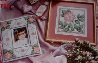 Winter Roses ~ Three Cross Stitch Charts