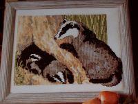 Badger Watch ~ Cross Stitch Chart