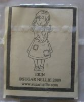 Sugar Nellie: Erin ~ Rubber Stamp