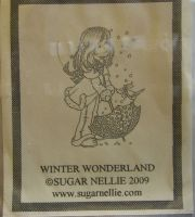 Sugar Nellie: Winter Wonderland ~ Rubber Stamp