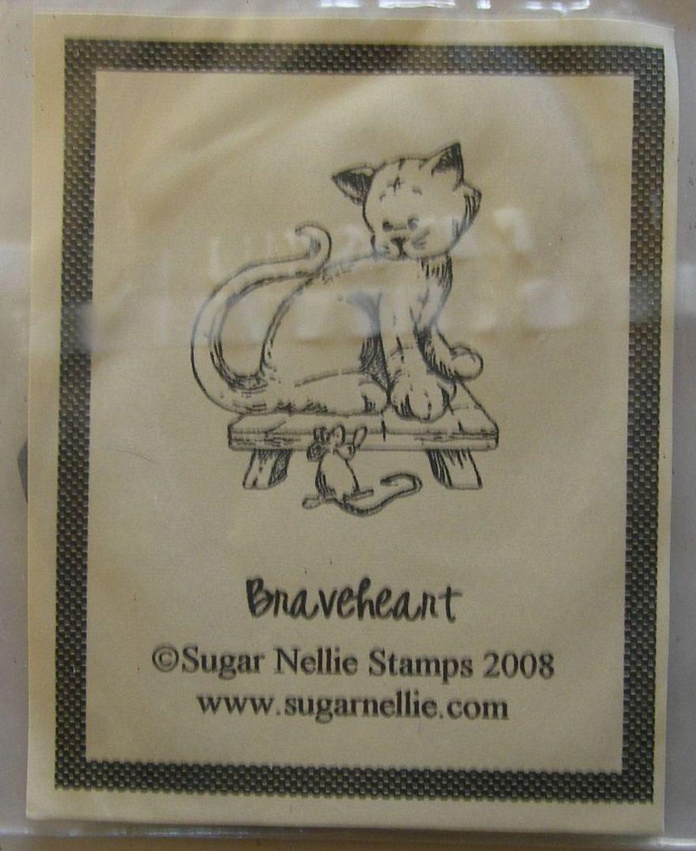 Sugar Nellie: Braveheart ~ Rubber Stamp