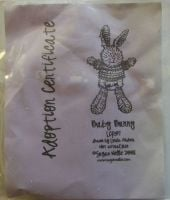 Sugar Nellie: Little Cotton Rabbits - Baby Bunny ~ Rubber Stamp