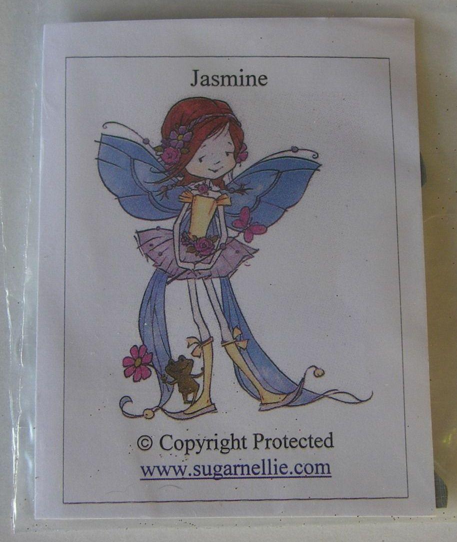 Sugar Nellie: Jasmine ~ Unmounted Rubber Stamp