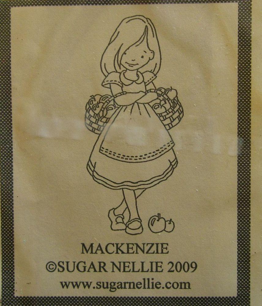 Sugar Nellie: Mackenzie ~ Rubber Stamp