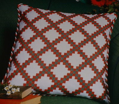 Double Irish Chain Cushion ~ Cross Stitch Chart