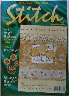 STITCH No 28 April/May 2004 Embroiderers' Guild Magazine