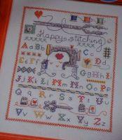 Sewing Machine Stitching Sampler ~ Cross Stitch Charts