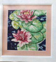 Tranquil Waterlilies ~ Cross Stitch Chart