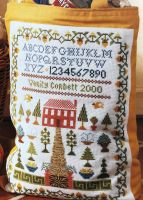 Historical Garden Sampler ~ Cross Stitch Chart