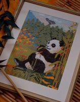 Giant Panda ~ Cross Stitch Chart