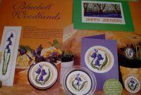 Bluebell Woodlands ~ Five Cross Stitch Charts