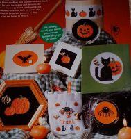 Halloween Motifs ~ Eight Cross Stitch Charts