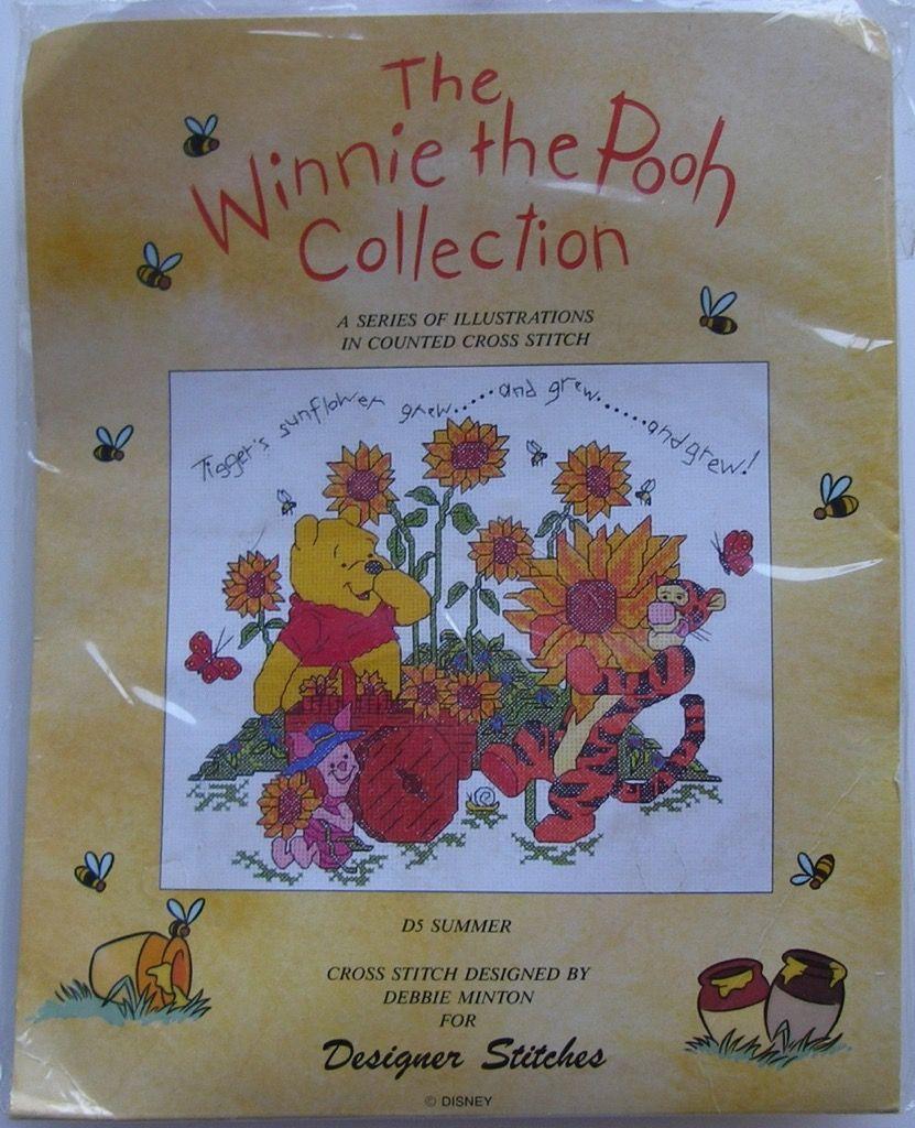 Designer Stitches: The Winnie the Pooh Collection Summer D5 ~ Cross Stitch