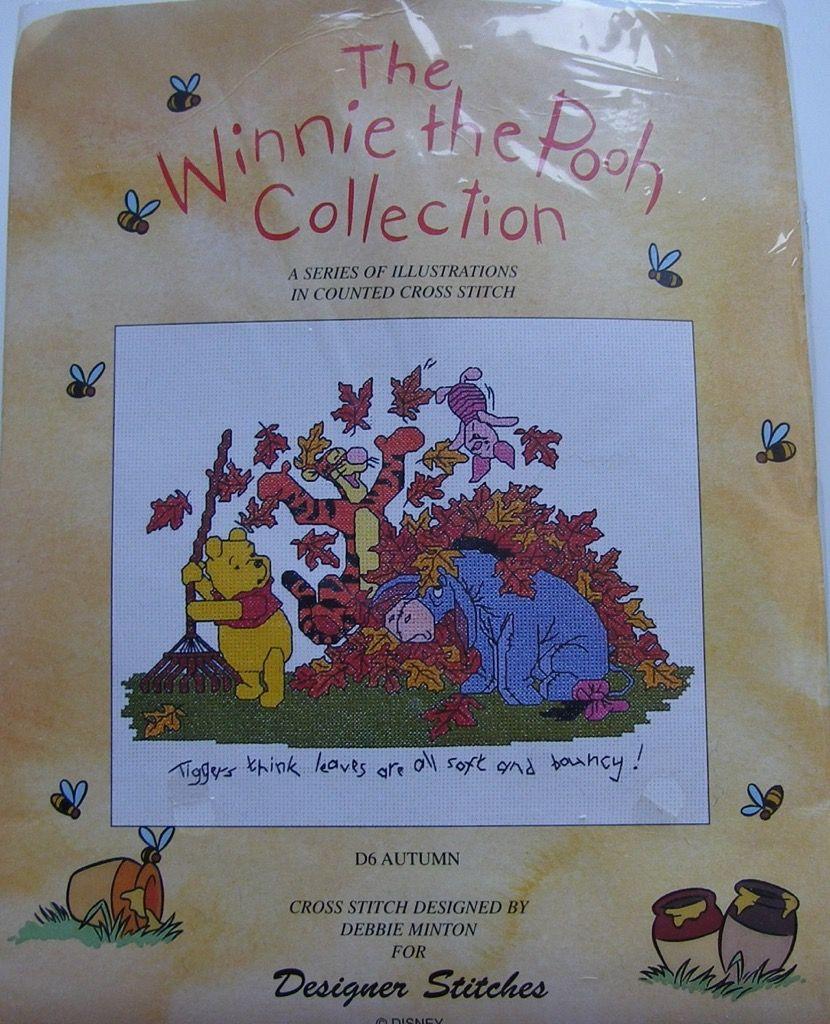 Designer Stitches: The Winnie the Pooh Collection Autumn D6 ~ Cross Stitch