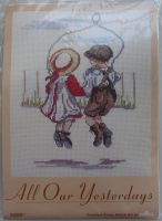 All Our Yesterdays: Skipping Together K889 ~ Cross Stitch Kit