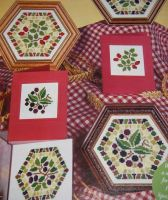 Harvest Berry Mosaics ~ Three Cross Stitch Charts