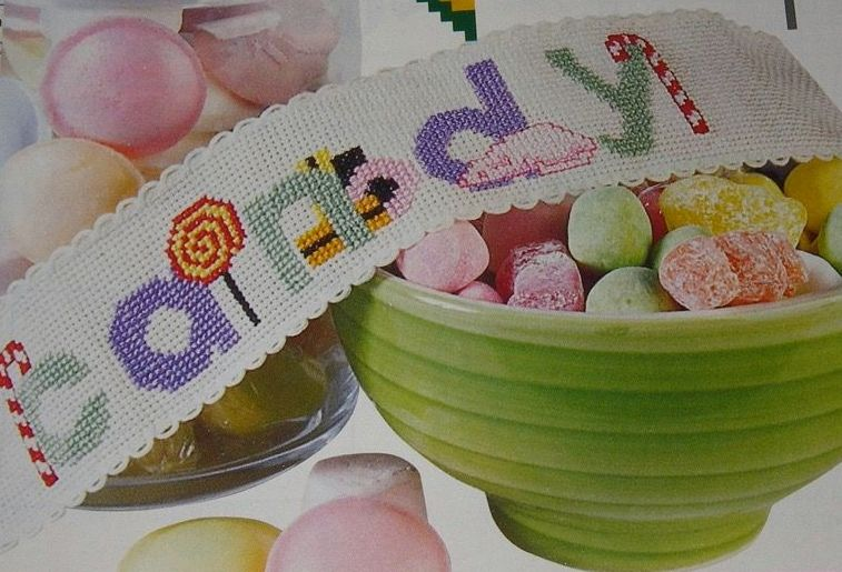 Sweets ABC Alphabet ~ Cross Stitch Chart
