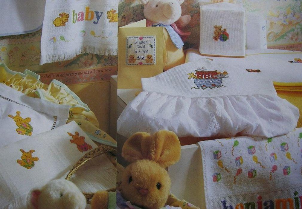 Quick Baby Gift Designs ~ Eleven Cross Stitch Charts