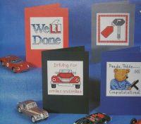 Congratulations Driving Test Pass & Cooks Alphabet Cross Stitch Charts
