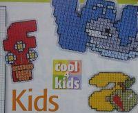 Children's ABC Alphabet ~ Cross Stitch Charts