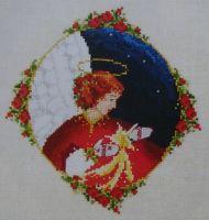 Celestial Christmas Angel ~ Cross Stitch Chart