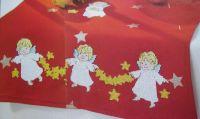 Angels & Stars Table Runner ~ Cross Stitch Chart