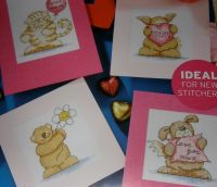 Four Mother's Day/Birthday Cards ~ Cross Stitch Charts