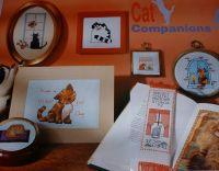 Seven Cats ~ Cross Stitch Charts