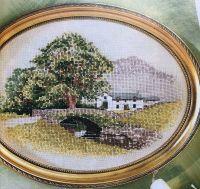 John Clayton: Hill Farm Cottage ~ Cross Stitch Chart