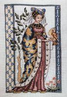 Medieval Lady ~ Cross Stitch Chart