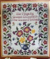 The Queen Mother 100th Birthday Sampler ~ Cross Stitch Chart