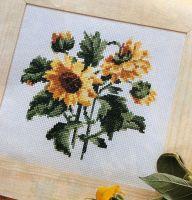 Sunflowers ~ Cross Stitch Chart