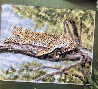 Wild Cat: Leopard ~ Cross Stitch Chart