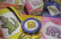 Five Funky Animals ~ Cross Stitch Charts