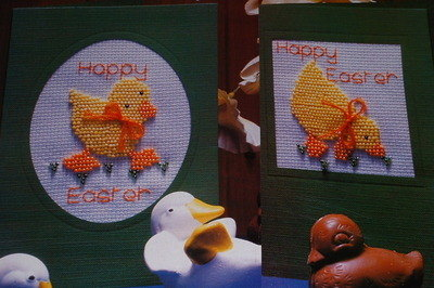 Easter Chicks ~ Counted Beadwork Patterns