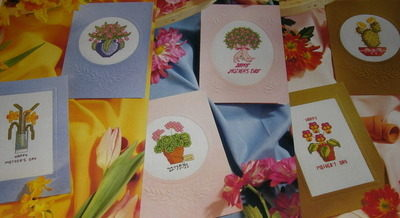 Spring Flower Cards ~ Cross Stitch Charts