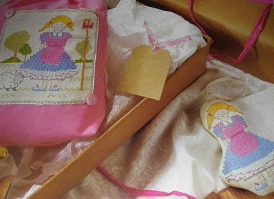 Little Bo Peep Picture & Doll ~ Cross Stitch Chart