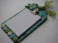 <!-056->OOAK Handmade FRIDGE MAGNET NOTEPADS