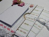 OOAK Handmade Paper Bag Fridge Magnet Notepads