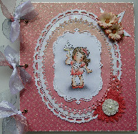 HEN NIGHT ~ OOAK Handmade Scrapbook Albums