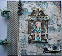 VINTAGE ~ OOAK Handmade Scrapbook Photo Albums