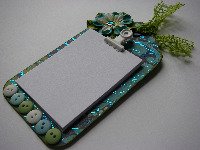 OOAK Handmade Tag Fridge Magnet Notepads