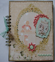 MOTHER'S DAY OOAK Handmade MEMORY ALBUMS