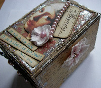 VINTAGE ~ OOAK Handmade Boxes